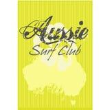 Club australiano de la resaca Ilustración del Vector