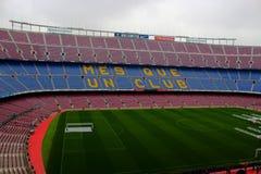 Club Barcelone du football de stade de Camp Nou images libres de droits