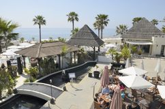 Club beach Stock Photo