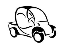 Club car. An illustration of club car icon stock illustration