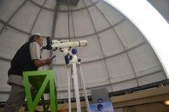CLUB D'ASTRONOMIE D'ÉTUDIANT DE L'INDONÉSIE Image libre de droits