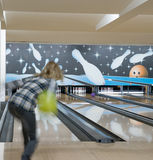 Club de bowling Photographie stock