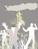 Club de danza (ponga su texto aquí) libre illustration