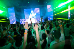 Club de disco Photo stock
