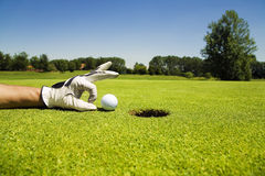 Club de golf Image libre de droits