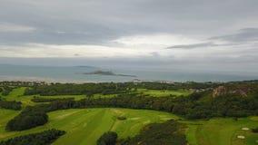 Club de golf del castillo de Luttrellstown Imagenes de archivo