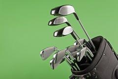 Club de golf réglé sur le vert de chroma image stock