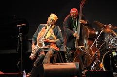 Club de jazz Photographie stock libre de droits