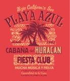 Club de la fiesta de Baja California Imagen de archivo libre de regalías