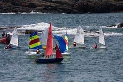 Club de la navegación de la bahía de Trearddur Foto de archivo libre de regalías