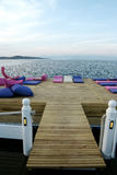 Club de la playa Imagen de archivo
