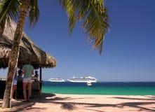 Club de la playa Foto de archivo libre de regalías