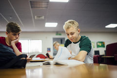 Club de la preparación en la escuela Foto de archivo libre de regalías