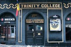 Club de la universidad de la trinidad fotografía de archivo libre de regalías