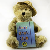 Club de lecture d'ours images stock