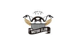 Club de moteur illustration de vecteur