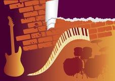 Club de musique Photos stock