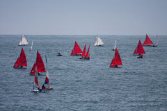 Club de navigation de compartiment de Trearddur Photographie stock