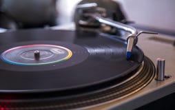 Club de nigth de vintage de vinil de disque Image stock