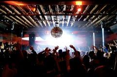 Club de noche Imagen de archivo