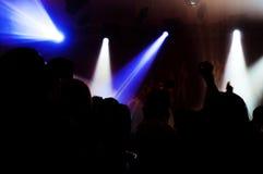 Club de noche Imágenes de archivo libres de regalías