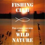 Club 2 de pêche Photo libre de droits