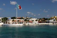 Club de plage dans Cozumel image stock