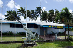 Club de Rarotonga RSA en el cocinero Islands de Rarotonga Foto de archivo