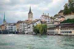 Club de remo de Limmat - Zurich Imagen de archivo
