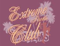 Club de sports extrême Image stock