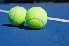 Club de tennis de ressource Photo stock
