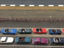 Club de voiture au classique de Silverstone Photographie stock libre de droits