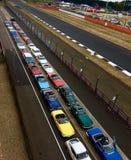 Club de voiture au classique de Silverstone Images stock