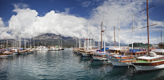 Club de yacht Photos stock