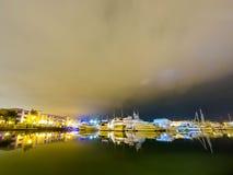 Club de yacht Image libre de droits