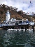Club de yacht d'île de Catalina Image libre de droits