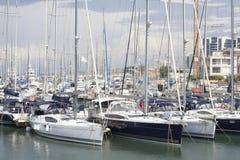 Club de yacht de Herzliya Photos stock