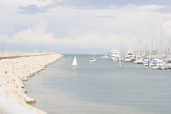 Club de yacht de Herzliya Photographie stock libre de droits