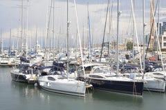 Club de yacht de Herzliya Images libres de droits