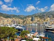 Club de yacht de Monaco Image libre de droits