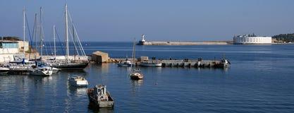 Club de yacht de Sébastopol photographie stock libre de droits