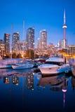 Club de yacht de Toronto Photographie stock libre de droits