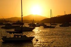 Club de yacht Panama Image stock