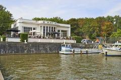 Club de yacht royal de Bruxelles Photos libres de droits