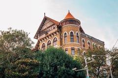 Club de yacht royal de Mumbai Bombay dans l'Inde photographie stock libre de droits