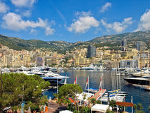 Club de yate de Mónaco Imagen de archivo libre de regalías