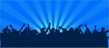 Club del disco Foto de archivo libre de regalías