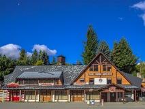 Club del esquí Imagen de archivo libre de regalías