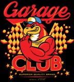 Club del garage Immagini Stock