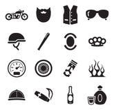 Club del motociclo illustrazione di stock